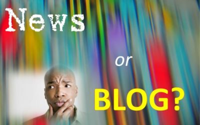 Blurred Lines: Blog and News are Not the Same