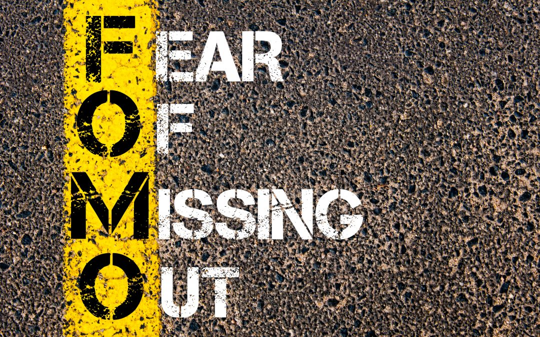 OMG! Acronym FOMO: Don't Miss Out!
